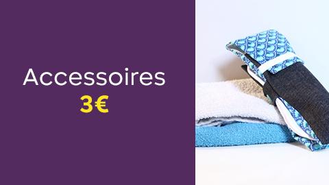Patrons accessoires à 3€