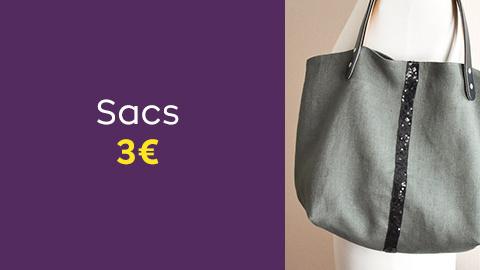Patrons de sacs à 3€