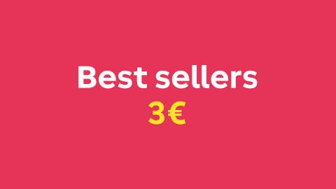 Bestsellers à 3€