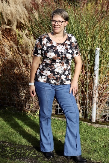 Bootcut Jeans Schnittmuster & Anleitung by Sewera