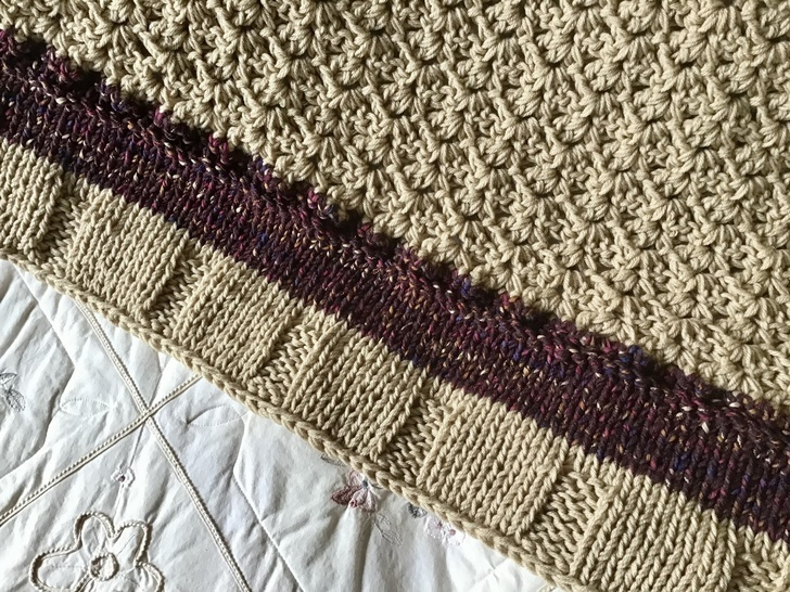 French Alps Baby Blanket