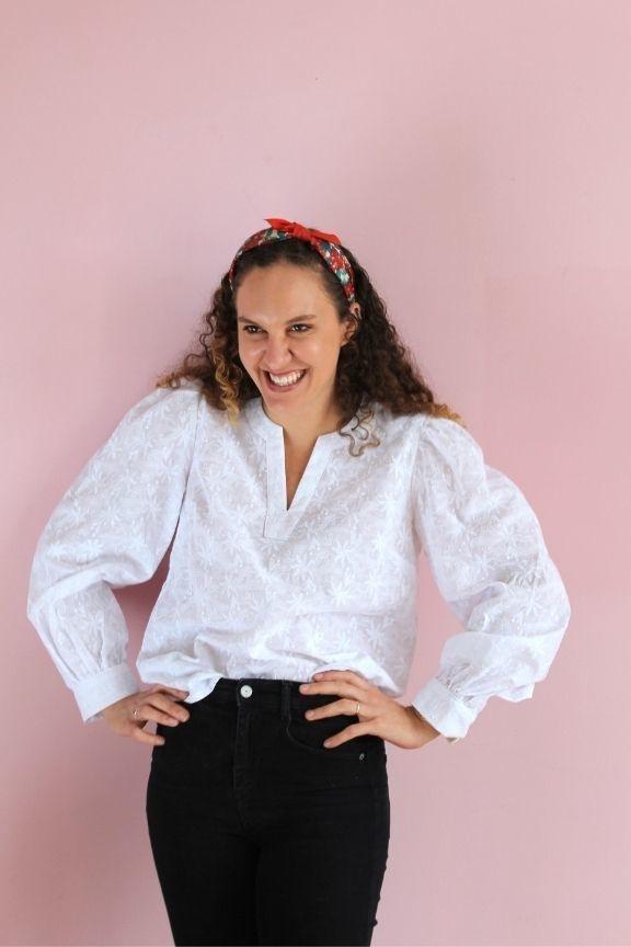 Collection Makerist patron couture blouse Rachel