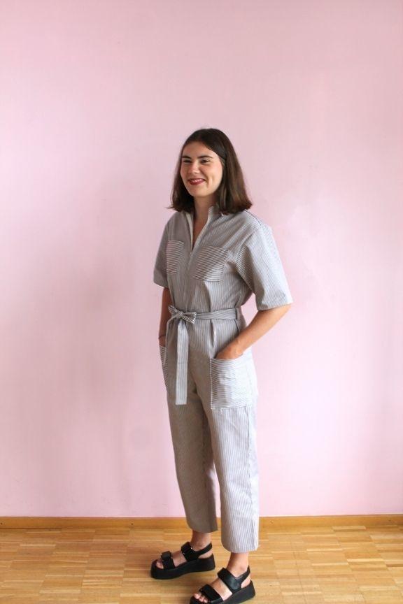 Collection Makerist patron couture combinaison Chandler
