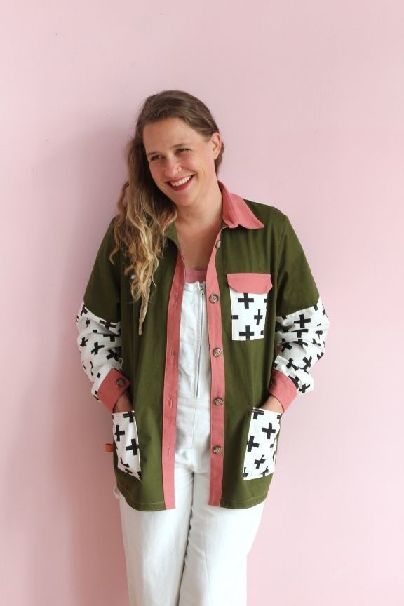 Collection Makerist patron couture veste Joey