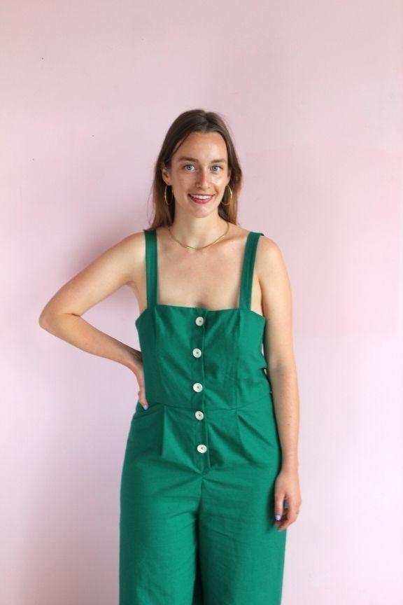 Collection Makerist patron couture salopettes Monica