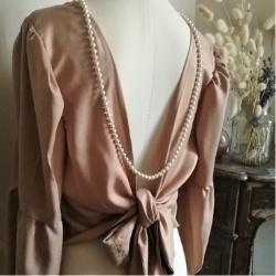 blouse captivante popeline & linon