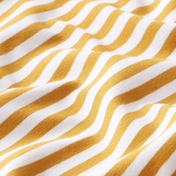 jersey coton rayures étroites tissu