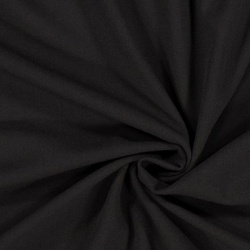 crêpe georgette moss noir
