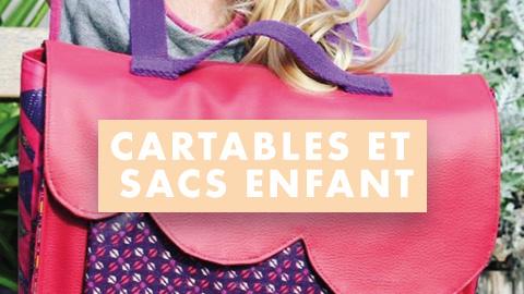 Patrons de sacs et cartables à -50%