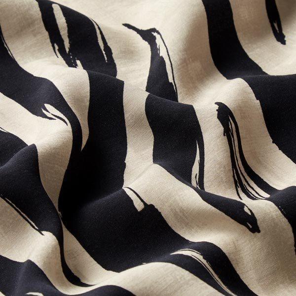 Kleider- und Blusenstoff Zebra