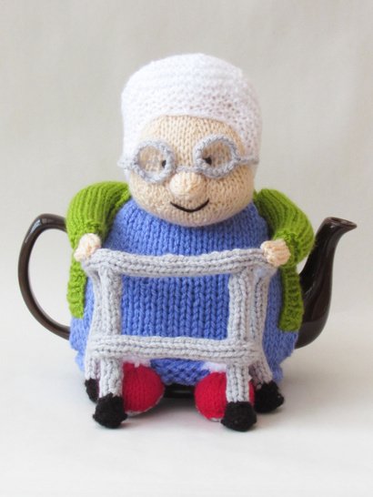 Granny and her Zimmer Tea Cosy
