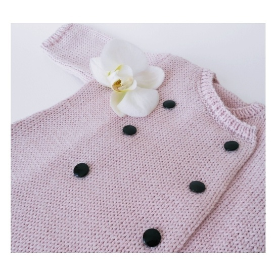 Orchid baby dress