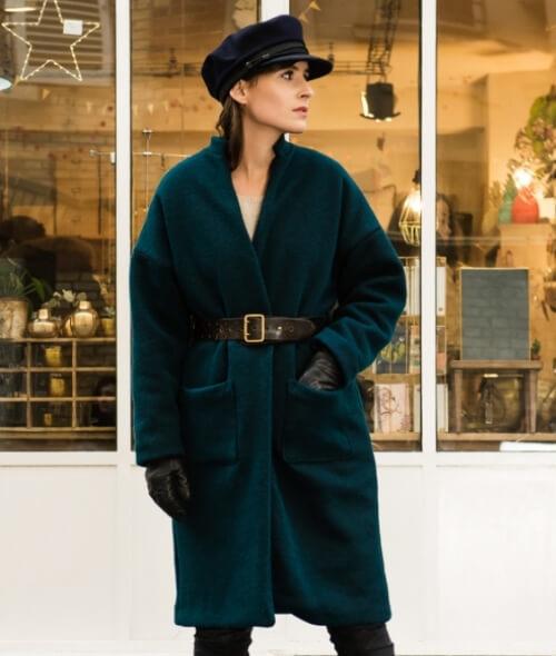 Patron du manteau Riga par Orageuse
