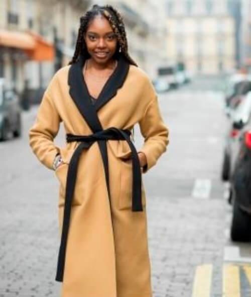 Patron du manteau Eglantine par Atelier Patron de Couture