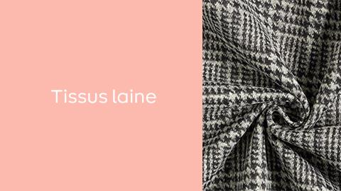 Layering - Tissus laine