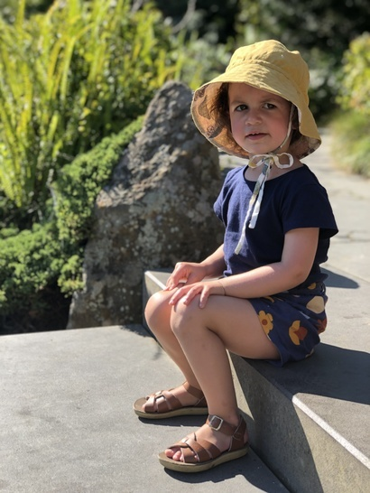 Reversible Sun Rain Hat Sewing Pattern for Kids and Adults