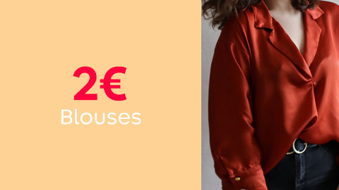 Patrons de blouses et chemises à 2€
