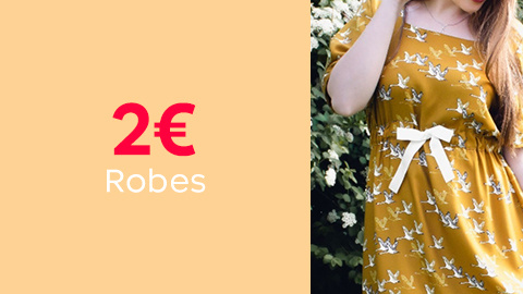 Patrons de robes à 2€