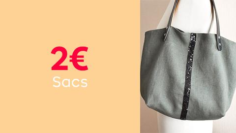 Patrons de sacs à 2€