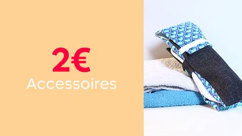 Patrons accessoires à 2€