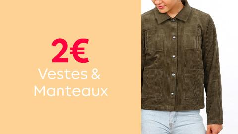 Patrons de vestes et manteaux à 2€