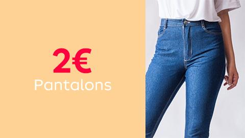 Patrons de pantalons à 2€