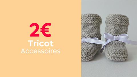 Tutos tricot accessoires à 2€