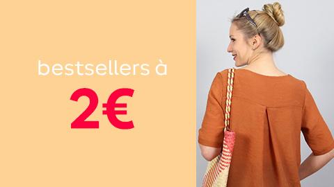 Bestsellers à 2€