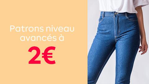 Patrons niveau avancé à 2€