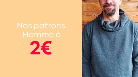 Sélection patrons pour hommes à 2€