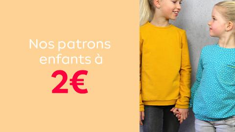 Sélection patrons enfant à 2€