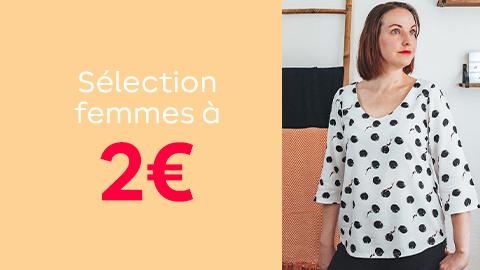 Sélection patrons pour femmes à 2€