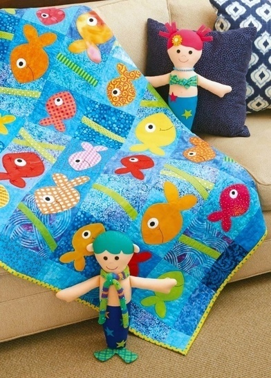 This Little Fishy - Quilt Pattern