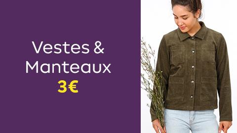 Patrons de vestes et manteaux à 3€