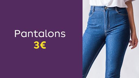 Patrons de pantalons à 3€