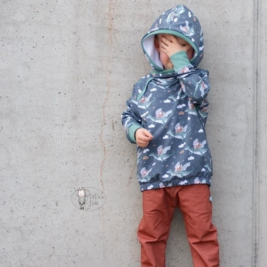 CL*OVER  'hooded' Sweater Kids