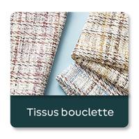 Tissus bouclette