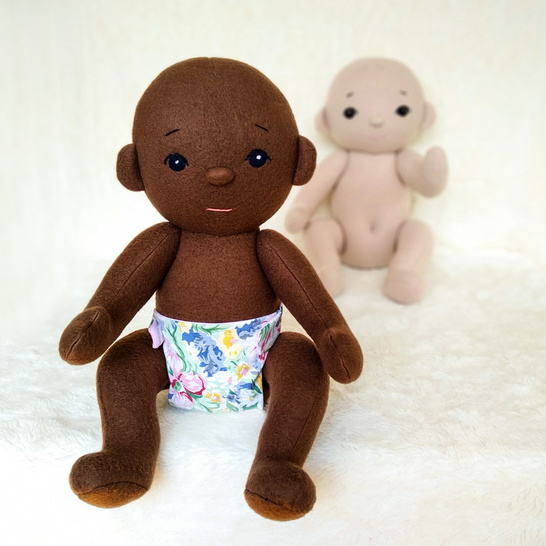 Baby Doll 18 inches PDF Sewing Pattern and Tutorial