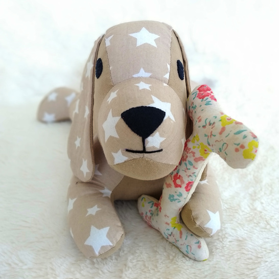 Lazy Dog PDF Sewing Pattern and Tutorial