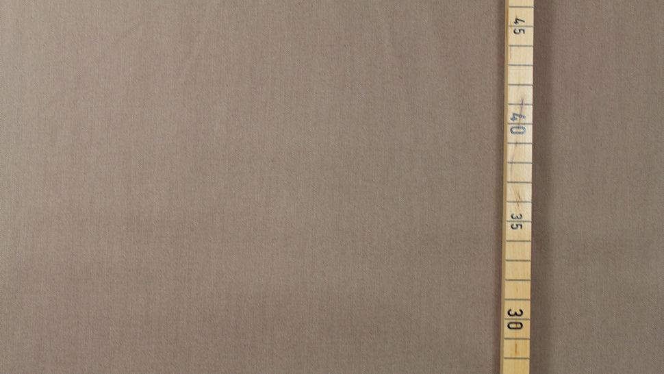 Baumwollstoff beigebraun uni: Heide - 150 cm im Makerist Materialshop - Bild 2