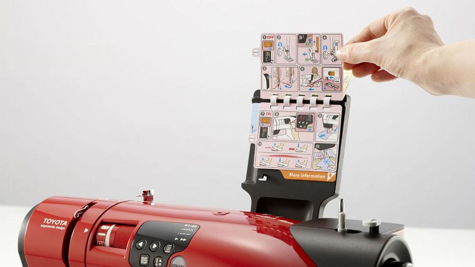 Toyota OEKAKI Renaissance - Computernähmaschine im Makerist Materialshop - Bild 7