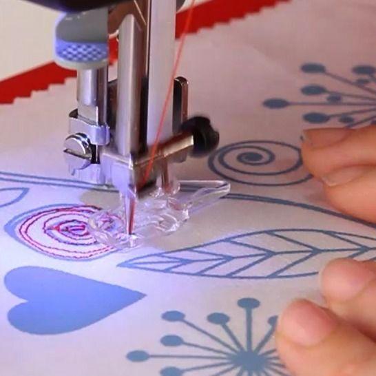 Toyota OEKAKI Renaissance - Computernähmaschine im Makerist Materialshop - Bild 11