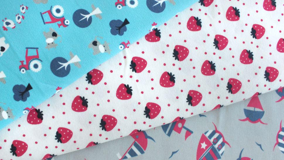 Jersey coton imprimé fraises sur fond blanc Avalana - 162 cm dans la mercerie Makerist - Image 5