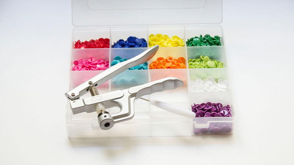 Kit de 250 boutons pression KAM Snaps avec pince dans la mercerie Makerist - Image 2