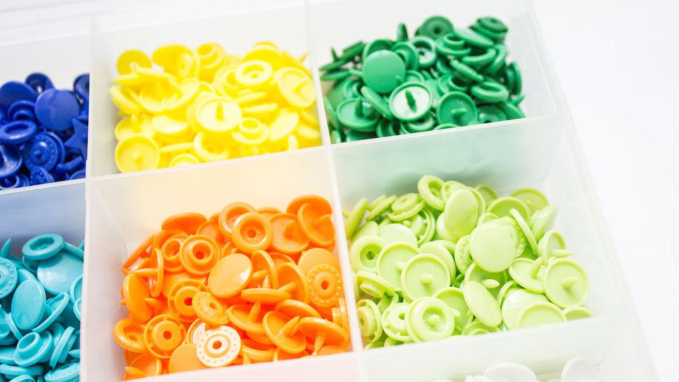 Kit de 250 boutons pression KAM Snaps avec pince dans la mercerie Makerist - Image 4