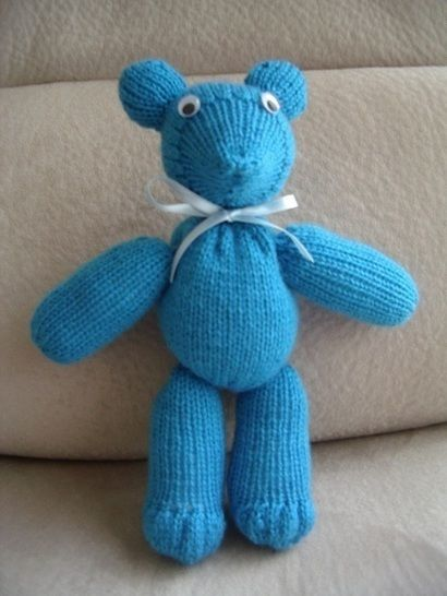 8ply Teddy Bear with moveable joints - Travis at Makerist - Image 1