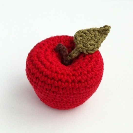 Apple Crochet Pattern at Makerist - Image 1