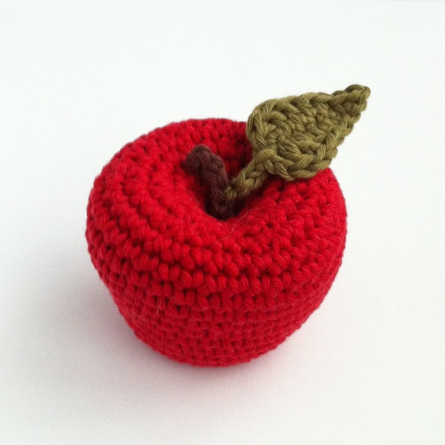 Apple Crochet Pattern