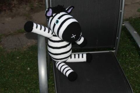 ebook Zed Zebra crochet pattern