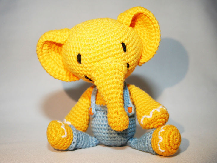 Elephant - Crochet Pattern at Makerist - Image 1